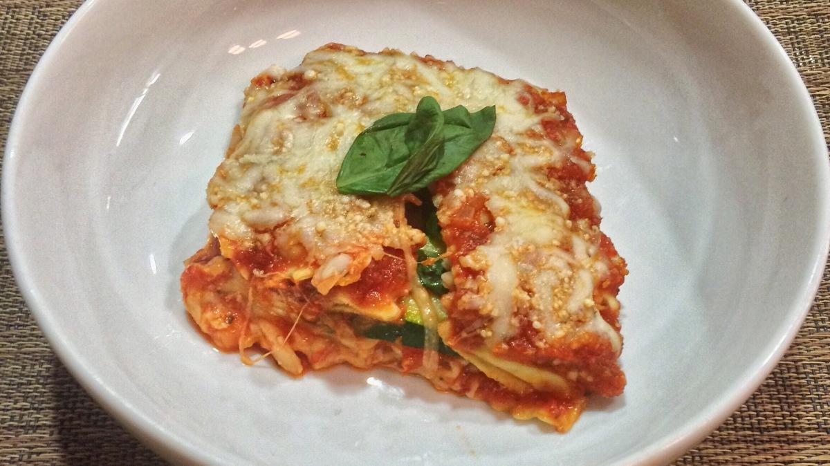 Ravioli Zucchini Casserole