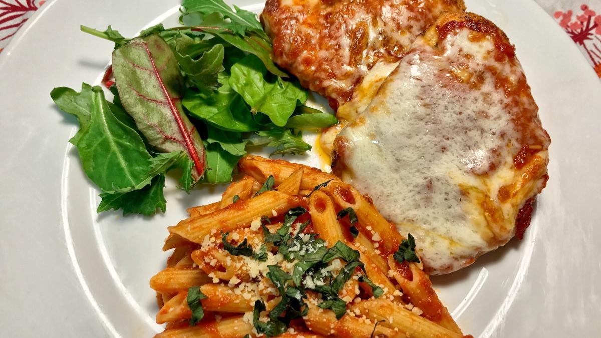 Chicken Parmesan Perfection