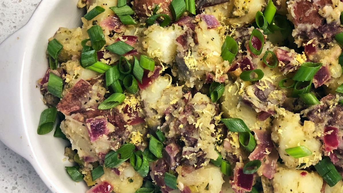 On The Side: German-Style Potatoes withPesto